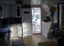 Rose Cottage: Коттедж Roze кухня