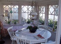 Rose Cottage: Коттедж Roze терраса