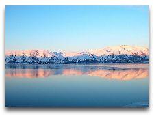 Севан. Общая информация: Севан -зимой