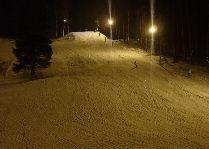Активный отдых в Сигулде: Освещенная лыжная трасса