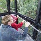 Активный отдых в Сигулде: Поездка на канатной дороге