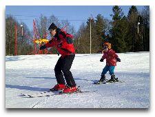 Активный отдых в Сигулде: Детская школа по горным лыжам