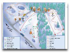 Активный отдых в Сигулде: Схема трасс