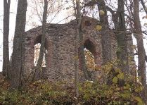 Живописные развалины Кримулдского замка