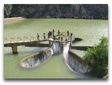 Достопримечательности Сисиана: Водозабор водохранилища на реке Воротан