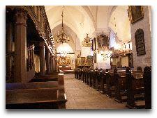 Достопримечательности Таллинна – cоборы и церкви: Интерьер церкви св. Духа