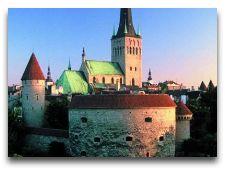 Достопримечательности Таллинна – cоборы и церкви: Вид на церковь св. Олава