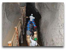 Соляная шахта Бохня: Катание на лодках по шахте (камора 81)