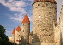 Достопримечательности Таллинна – Городская стена, башни и ворота: Башенная площадь