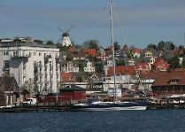 Город Свенборг: Вид на город