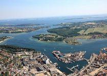 Город Свенборг: Свенборг с птичьего полета