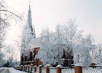 Достопримечательности Тарту – Церкви и Соборы: Церковь пресвятой Богородицы