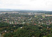 Таллиннская телебашня: Вид с телебашни