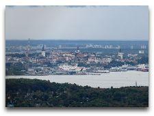 Таллиннская телебашня: Вид на Старый город