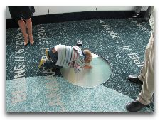 Таллиннская телебашня: Окно в полу