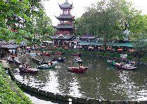Парк Тиволи: Катание на лодках