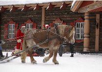 Tomteland -деревня Шведского Санта Клауса: Ах, зима!