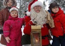 Tomteland -деревня Шведского Санта Клауса: Томте