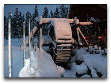 Tomteland -деревня Шведского Санта Клауса: Мельница