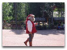 Tomteland -деревня Шведского Санта Клауса: Шведский Санта Клаус на летнем отдыхе