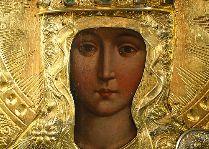 Достопримечательности Тракая: Икона Девы Марии с младенцем