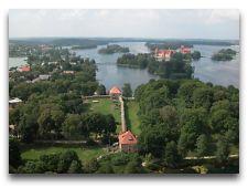 Достопримечательности Тракая: Замок на полуострове