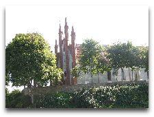 Достопримечательности Тракая: Неоготический костел в Старом Тракае