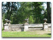 Достопримечательности Тракая: Парк в усадьбе