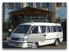 Транспорт для туристов: Микроавтобус ISTANA SHAQ