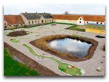 Замок Вальдемарс: Гольф в замке