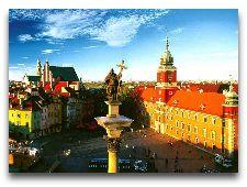Варшава Общая информация: Замковая площадь
