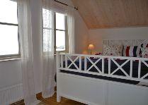 Вoat house в гавани: Домик No.10 спальня