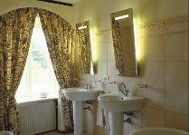 Замок Брохолм: ванная комната