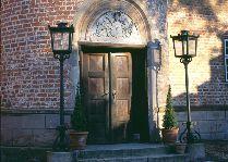 Замок Брохолм: вход в замок