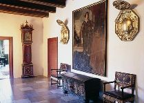 Замок Брохолм: зал замка