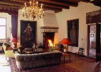 Замок Брохолм: каминный зал