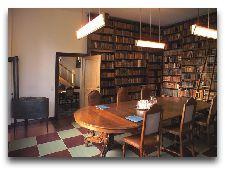 Замок Брохолм: библиотека