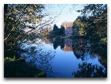 Замок Брохолм: парк