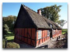 Замок Брохолм: старая водяная мельница