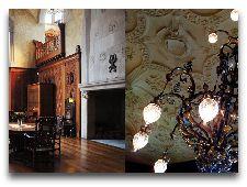 Замок Чулёхольм: Большой зал и столовая