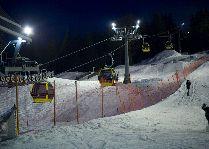 Зимние виды спорта: Вечером Ski&Sun