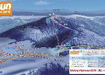 Зимние виды спорта: Карта курорта Ski&Sun