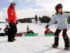Горнолыжный курорт Клаппен: Сноуборд школа
