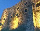 Ахалцихе: Крепость ночью