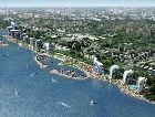 Актау: Вид на город с моря