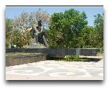 Актау: Памятник Тарасу Шевчеко