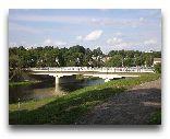 Аникщяй: Мост через реку Швянтойи