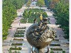Ашхабат: Монумент памяти погибших жертв в землетрясении