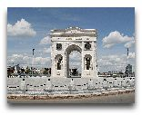 Нур-Султан: Триумфальная арка Мангилик ел