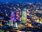 Баку: Ночной город